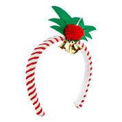 Mixit™ Candy Cane Mistletoe Holiday Headband
