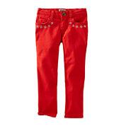 OshKosh B'gosh® Embroidered Skinny Pants - Toddler Girls 2t-5t