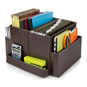 Guidecraft Folding Desk Organizer - Brown