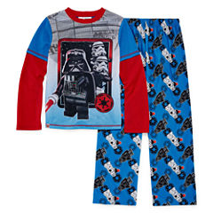 2-pc. Star Wars Darth Vader Lego Pajama Set- Boys 4-12