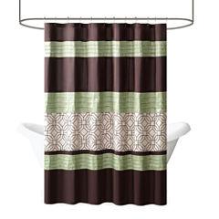 Madison Park Lindan Shower Curtain