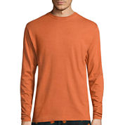 Stafford® Long-Sleeve Crewneck T-Shirt