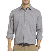 Van Heusen® Long-Sleeve Non-Iron Traveler StretchButton-Front Shirt