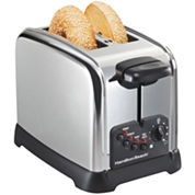 Hamilton Beach® Classic Chrome 2-Slice Toaster
