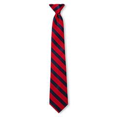 IZOD® Abel Striped Clip-On Tie - Boys