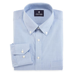 Stafford® Non-Iron Cotton Pinpoint Oxford Dress Shirt