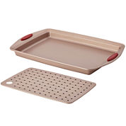 Rachael Ray® Cucina 2-pc. Nonstick Crisper Pan Set