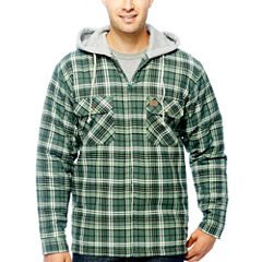 Wrangler/Riggs Workwear® Hooded Flannel Shirt Jacket