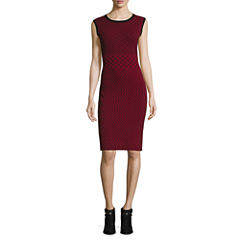 Worthington Sleeveless Sweater Dress-Petites