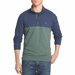 IZOD Long-Sleeve Mock Shirt