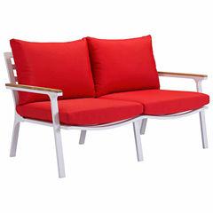 Zuo Modern Maya Beach Patio Sofa