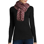 Mixit™ Marled Luxe Sequin Loop Scarf