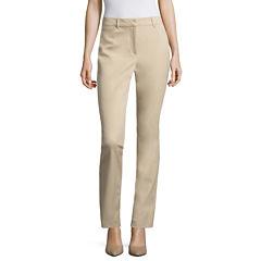 Liz Claiborne® Bi-Stretch Emma Pants - Tall