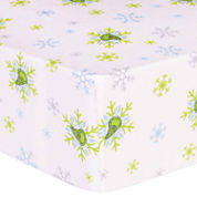 Trend Lab Dr Seuss Grinch Flannel  Crib Sheet