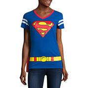 Superman Cape Tee - Juniors