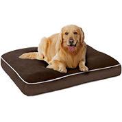 Sleep Philosophy Keegan Memory Foam Orthopedic Napper Dog Bed