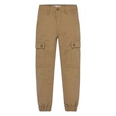 Levi's Twill Jogger Pants - Big Kid Boys