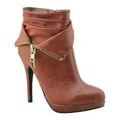 Michael Antonio Mavryk Zip-Detail Booties
