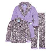 Girls Pajamas + Robe Set-Big Kid