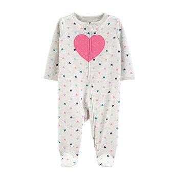 Carter 2 way Zipper Girls Sleep And Play Baby