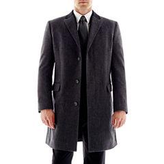 Stafford Contrast-Collar Topcoat