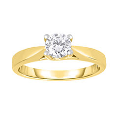 True Love, Celebrate Romance® 3/4 CT. Diamond Solitaire 14K Yellow Gold Ring