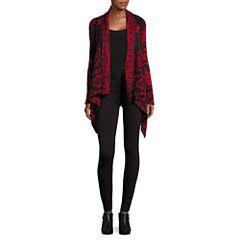 i jeans by Buffalo Long Sleeve Acrylic Cardigan or Solid Ponte Legging
