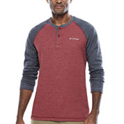 Columbia Long Sleeve Henley Shirt