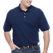 The Foundry Big & Tall Supply Co. Short Sleeve Easy Care Polo