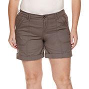 a.n.a® Roll-Cuff Cargo Shorts - Plus