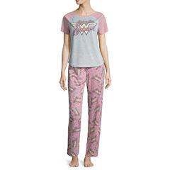 French Terry Pant Pajama Set-Juniors
