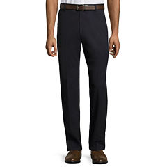 St. John's Bay® Easy-Care Classic Flat-Front Pants