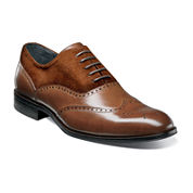 Stacy Adams® Standbury Mens Wingtip Oxfords