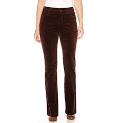 St. John's Bay® Straight-Leg Corduroy Pants