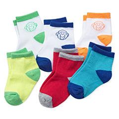 Okie Dokie® 6-pk. Socks - Baby Boys newborn-24m