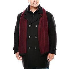 JF J. Ferrar® Black Hybrid Coat - Big & Tall