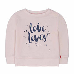 Levi's Long Sleeve T-Shirt-Baby Girls