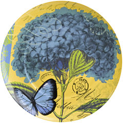 Waechtersbach Impressions Set of 4 Hydrangea Salad Plates