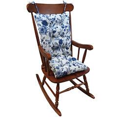 Klear Vu The Gripper® 2-pc. Floral Vine Universal Rocker Cushion Set