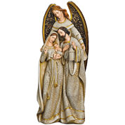 Roman Angel Embracing Holy Family