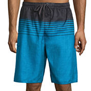 Burnside Stripe Board Shorts