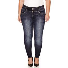 Love Indigo Skinny Jeans-Plus