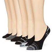 Mixit 6pk Microfiber Liner Socks