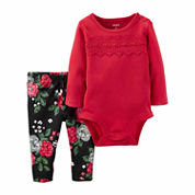 Carter's Girls 2-pc. Bodysuit Set-Baby