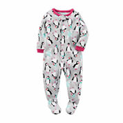 Carter's Girls Long Sleeve One Piece Pajama-Baby