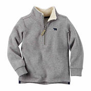 Carter's Boy Gray Knit Layering 4-8