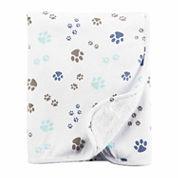 Carter's Puppy Paw Blanket