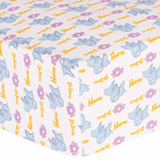 Trend Lab Dr Seuss Horton Flannel  Crib Sheet
