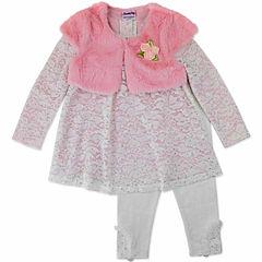 Nanette Baby Legging Set-Toddler Girls