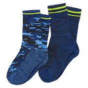 2-pk. Climate Smart Camo Socks-  Boys